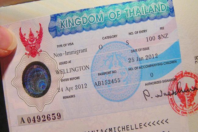 Иммиграционная и не иммиграционная виза в Таиланд