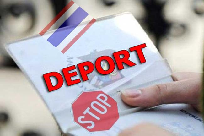 запрет на везд в таиланд