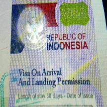 виза в индонезию