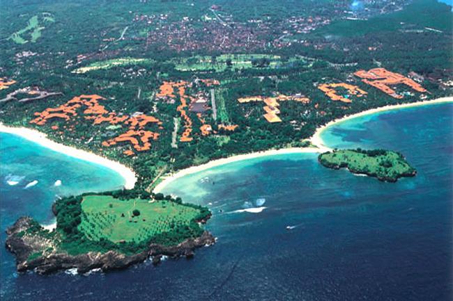 Пляж Нуса-Дуа остров Бали