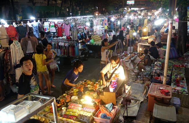 ночные рынки бангкока