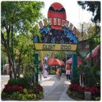 Зоопарк Дусит в Бангкоке столице Таиланда